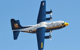 Обои небо, авиация, самолёт, С130