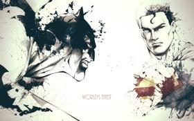 Обои art, Superman, Batman, David Despau