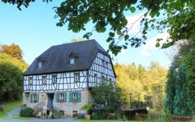 Картинка город, дом, фото, Германия, Rees