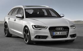 Обои Audi, ауди, универсал, Avant, 2014