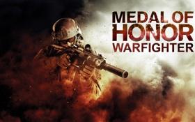 Картинка оружие, пыль, солдат, Medal of Honor: Warfighter