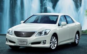 Обои Япония, Машина, Обои, Седан, Japan, Toyota, Car