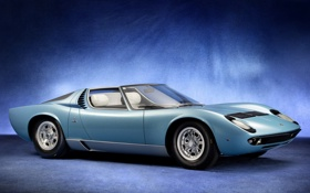 Картинка Roadster, Lamborghini, Spyder, Miura, ламборгини, Bertone