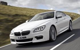 Картинка бмв, bmw, 640d, белый, coupe, шестой серии, sport package