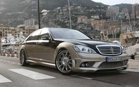 Картинка Mercedes, Benz, хром, Aigner, CK65, Blanchimont