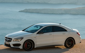 Картинка car, Mercedes-Benz, mercedes, AMG, wallpapers, CLA