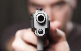 Обои пистолет, оружие, ситуация