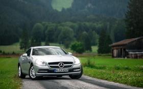 Обои Германия, Бавария, Mercedes CLK