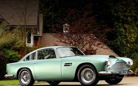 Обои авто, ретро, Aston Martin, астон мартин, классика, DB4