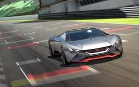 Картинка Gran Turismo, суперкар, Concept, пежо, Peugeot, Vision, 2015