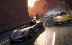 Обои Need for speed, 911, Porsche, 918 Spyder, Most wanted 2, 2012, машины