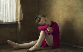 Обои девочка, балерина, юная