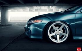 Обои Acura, Авто, Vossen, Wheels, Машина, Auto, крыло