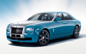 Картинка Rolls-Royce, Ghost, передок, Роллс-Ройс, Гост, Alpine Trial Centenary Collection