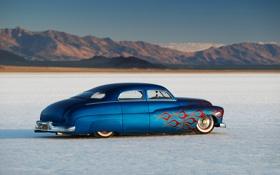 Картинка car, ретро, hot rod, tuning, автообои, Mercury Sedan