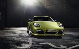 Обои Cayman R, порш, widescreen, Porsche, машины
