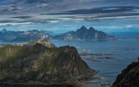 Картинка горы, Природа, вода
