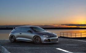 Картинка Volkswagen Scirocco R, hot hatch, фольксваген, tuning