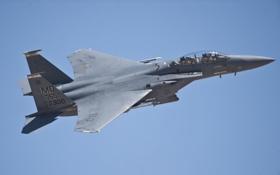 Картинка истребитель, Eagle, F-15E, McDonnell Douglas