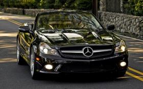 Картинка Mercedes, мерседесы, чёрный, авто обои, машины
