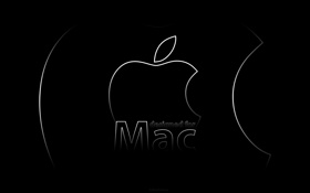 Обои надпись, мак, apple, mac, design