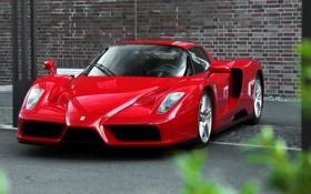 Картинка supercar, красная, Ferrari Enzo, феррари энцо