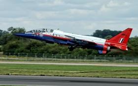 Картинка истребитель, бомбардировщик, «Ягуар», Jaguar T-2