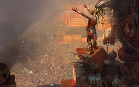 Обои индеец, стратегия, warchiefs, aoe, века империй, age of empires iii