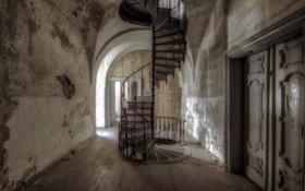 Картинка фон, двери, лестница