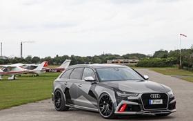 Обои Audi, ауди, Avant, 2015, RS 6, Schmidt Revolution