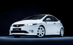 Обои honda, civic, mugen, type-r