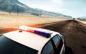Обои дорога, пустыня, Need for Speed, Hot Pursuit, шоссе 10