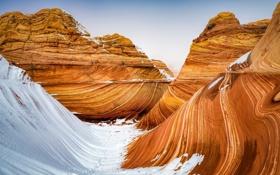 Картинка Arizona, Wave, Coyote Buttes North
