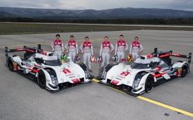 Обои Audi, ауди, LMP, R18, прототип ле-ман, Le Mans Prototype, суперкар