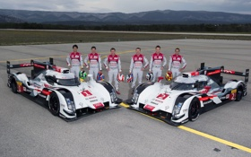 Обои Audi, ауди, спорт, суперкар, quattro, R18, e-Tron