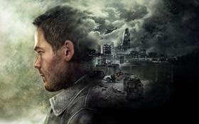 Обои Город, Взгляд, Машина, Актёр, Microsoft Game Studios, Quantum Break, Шон Эшмор
