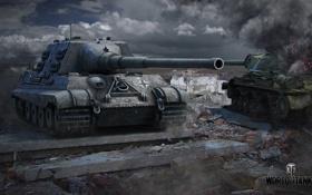 Обои танк, танки, WoT, Мир танков, tank, World of Tanks, Jagdtiger