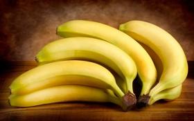 Обои бананы, фрукты, fruits, bananas