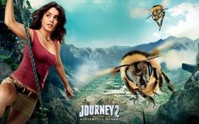 Картинка Ванесса Энн Хадженс, Journey 2: The Mysterious Island, Путешествие 2: Таинственный остров, гигантские пчёлы
