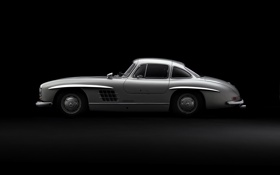 Обои car, машина, авто, Mercedes, 300SL, Gullwing