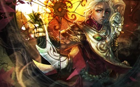Обои art, lol, League of Legends, moba, Jhin, The Virtuoso