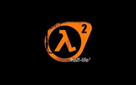 Обои logo, half life, lambda