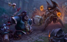 Обои warcraft, chen, Heroes of the Storm, moba, Azmodan