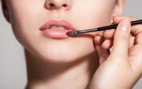 Картинка woman, lips, face, makeup