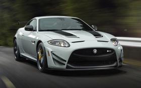 Обои авто, скорость, Jaguar, ягуар, XKR-S