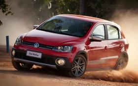 Обои занос, Volkswagen, передок, Ралли, Фольксваген, Гольф, Rallye