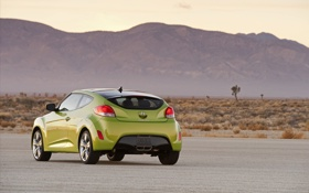 Обои дороги, Veloster, хюндай, авто обои, Hyundai, машины, пустыня