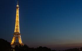 Обои эйфелева башня, париж, франция, paris, france