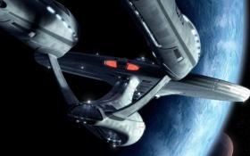 Картинка enterprise, энтерпрайз, star trek, стар трек, ncc1701