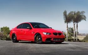Картинка бмв, BMW, red, красная, e92